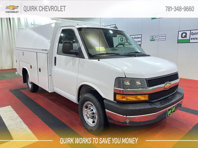 2021 Chevrolet Express 3500 4x2, Cutaway #C71495 - photo 1