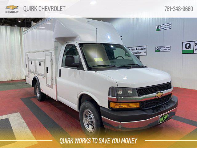 2021 Chevrolet Express 3500 4x2, Rockport Service Utility Van #C72448 - photo 1