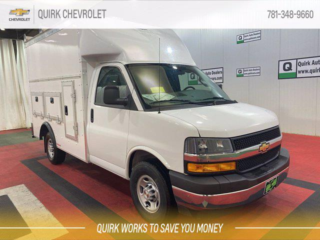 2021 Chevrolet Express 3500 4x2, Rockport Service Utility Van #C72836 - photo 1