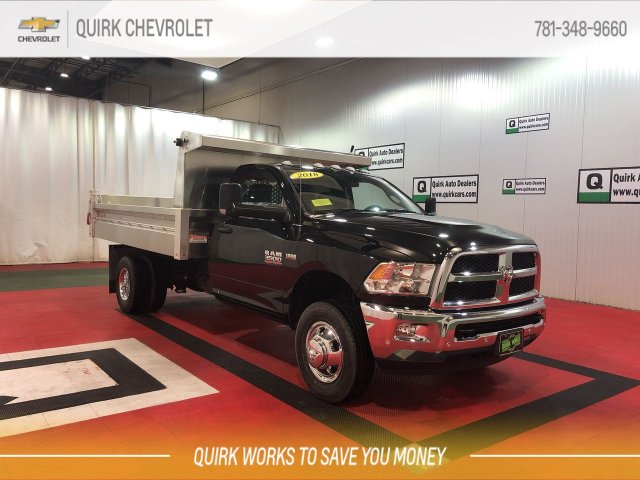 2018 Ram 3500 Regular Cab DRW 4x4, Duramag Dump Body #CU15379 - photo 1