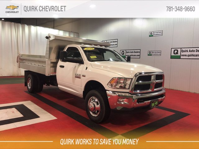 2018 Ram 3500 Regular Cab DRW 4x4, Duramag Dump Body #CU15380 - photo 1