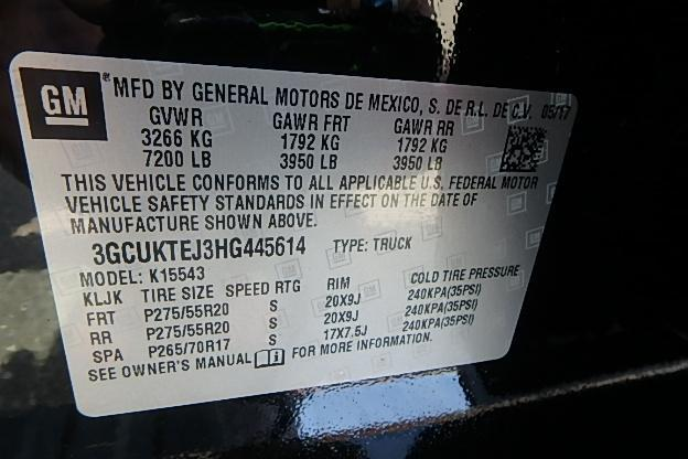 2017 Silverado 1500 Crew Cab 4x4, Pickup #12698 - photo 29