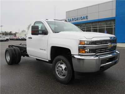 2018 Silverado 3500 Regular Cab DRW 4x4, Cab Chassis #13991 - photo 1