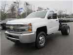 2018 Silverado 3500 Regular Cab DRW 4x4, Cab Chassis #13991 - photo 6