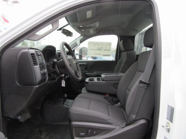 2019 Silverado 3500 Regular Cab DRW 4x4,  M H EBY Big Country Platform Body #16230 - photo 3