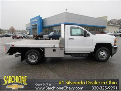 2019 Silverado 3500 Regular Cab DRW 4x4,  M H EBY Big Country Platform Body #16230 - photo 1