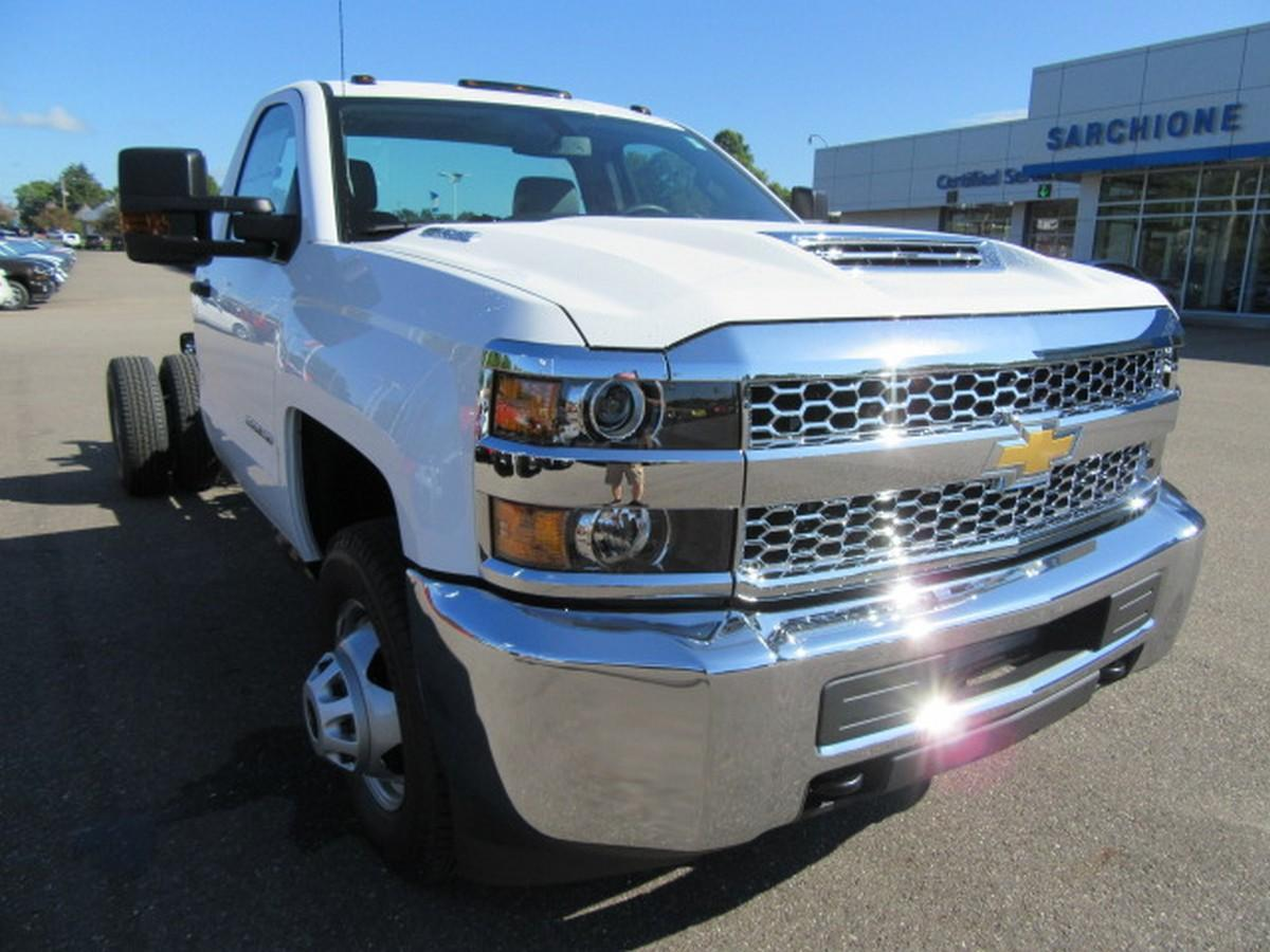2019 Silverado 3500 Regular Cab DRW 4x2,  Cab Chassis #16319 - photo 4
