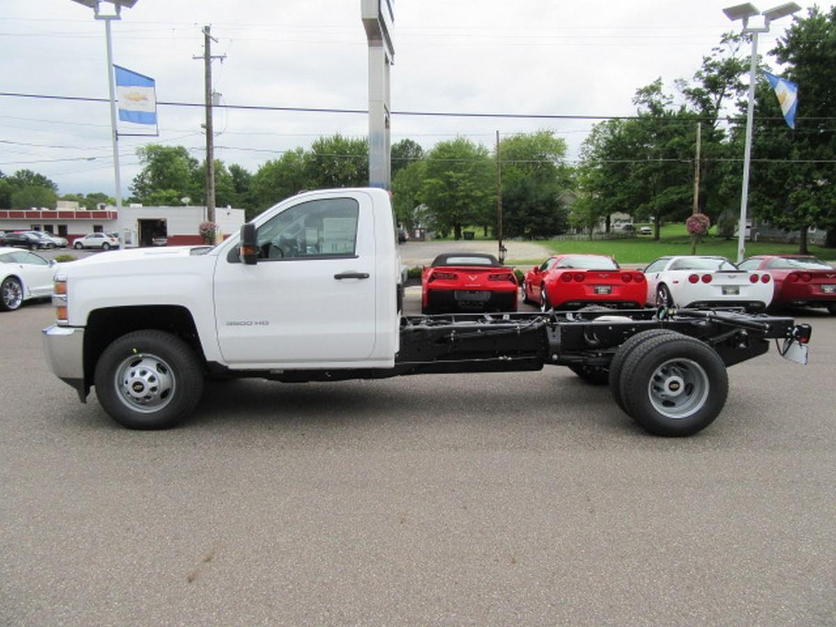 2019 Silverado 3500 Regular Cab DRW 4x2,  Cab Chassis #16337 - photo 7