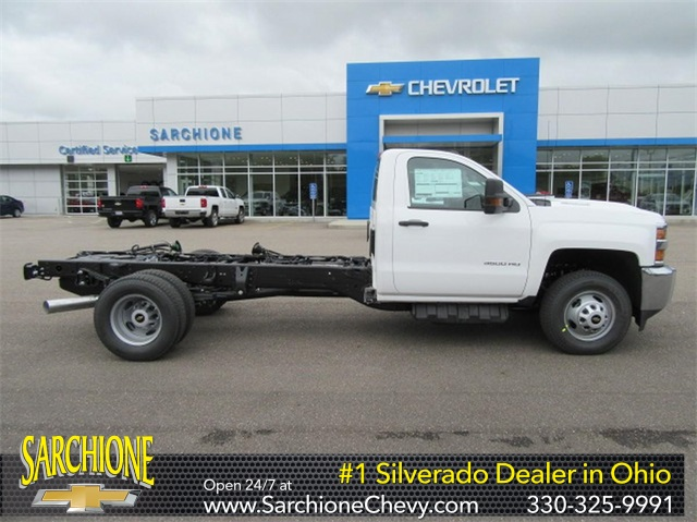 2019 Silverado 3500 Regular Cab DRW 4x2,  Cab Chassis #16354 - photo 1