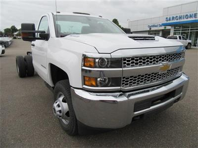 2019 Silverado 3500 Regular Cab DRW 4x2,  Cab Chassis #16354 - photo 3