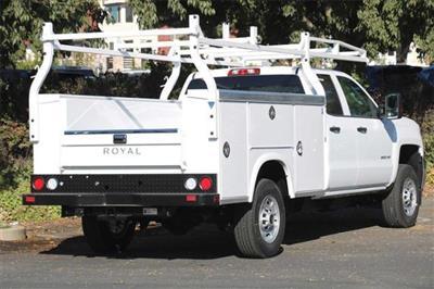 2019 Silverado 2500 Double Cab 4x2,  Royal Service Body #C40032 - photo 2
