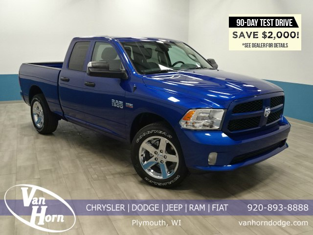 2017 Ram 1500 Quad Cab 4x4 Pickup #B205972N - photo 1