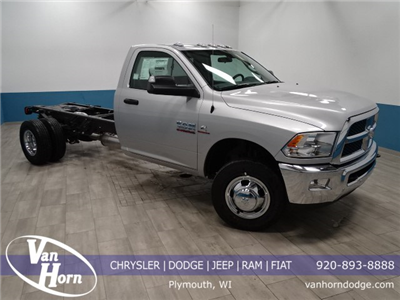 2018 Ram 3500 Regular Cab DRW 4x4,  Cab Chassis #B206425N - photo 1