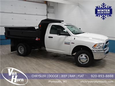 2018 Ram 3500 Regular Cab DRW 4x4, Dump Body #B206442N - photo 1