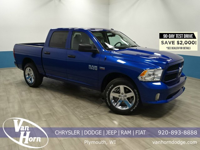 2018 Ram 1500 Crew Cab 4x4, Pickup #B207093N - photo 1