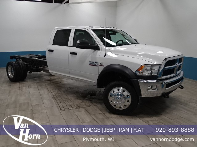 2018 Ram 5500 Crew Cab DRW 4x4, Cab Chassis #B207111N - photo 1