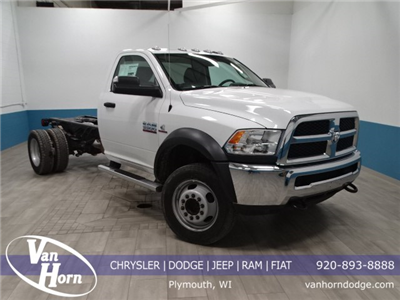 2018 Ram 5500 Regular Cab DRW 4x4,  Cab Chassis #B207869N - photo 1