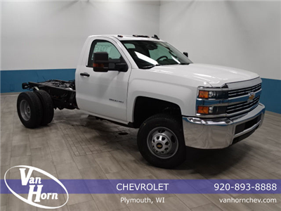 2018 Silverado 3500 Regular Cab DRW 4x4,  Cab Chassis #A104445N - photo 1