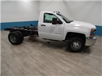 2018 Silverado 3500 Regular Cab DRW 4x4,  Cab Chassis #A104445N - photo 4