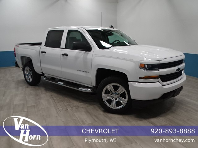 2018 Silverado 1500 Crew Cab 4x4, Pickup #A104763N - photo 1