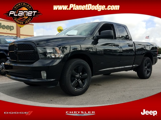 2018 Ram 1500 Quad Cab, Pickup #IJS119739 - photo 1