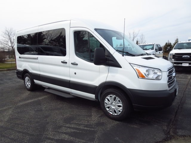 2017 Transit 350 Medium Roof Passenger Wagon #175745F - photo 3