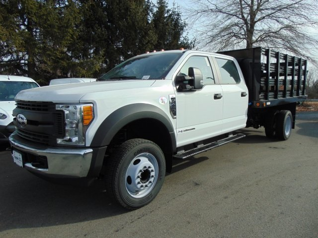2017 F-450 Crew Cab DRW, Reading Steel Stake Bodies Stake Bed #179336F - photo 1