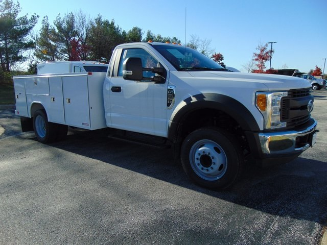 2017 F-550 Regular Cab DRW, Morgan Service Pro Service Body #179516F - photo 3