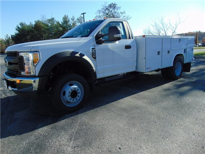 2017 F-550 Regular Cab DRW, Morgan Service Pro Service Body #179516F - photo 1