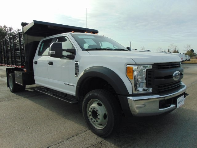 2017 F-550 Crew Cab DRW Stake Bed #179517F - photo 3