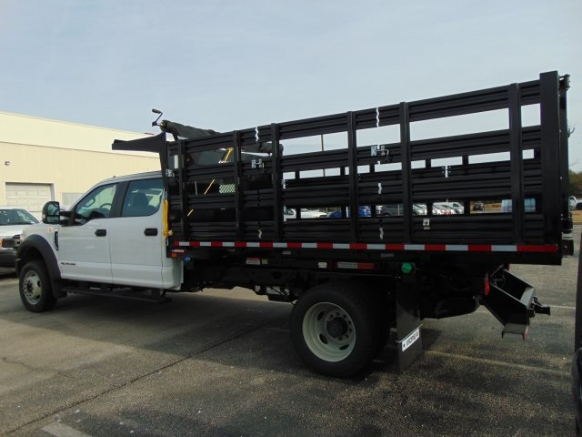 2017 F-550 Crew Cab DRW Stake Bed #179517F - photo 2