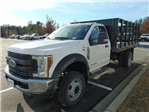 2018 F-450 Regular Cab DRW 4x2,  Reading Stake Bed #185496F - photo 1