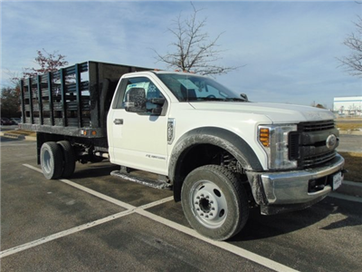 2018 F-450 Regular Cab DRW, Reading Steel Stake Bodies Stake Bed #185497F - photo 7