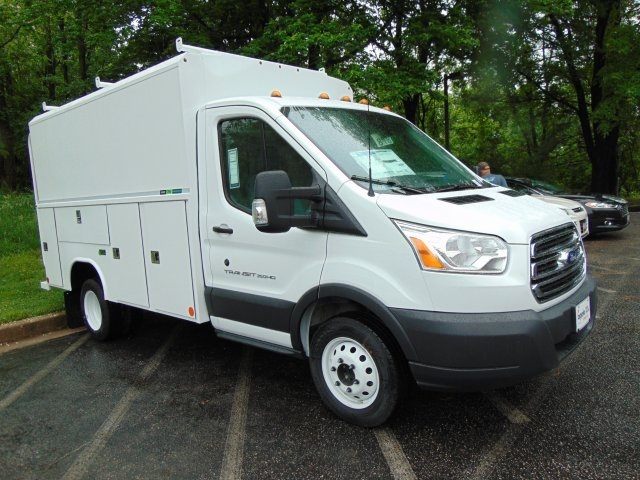 2018 Transit 350 HD DRW, Reading Service Utility Van #186219F - photo 3