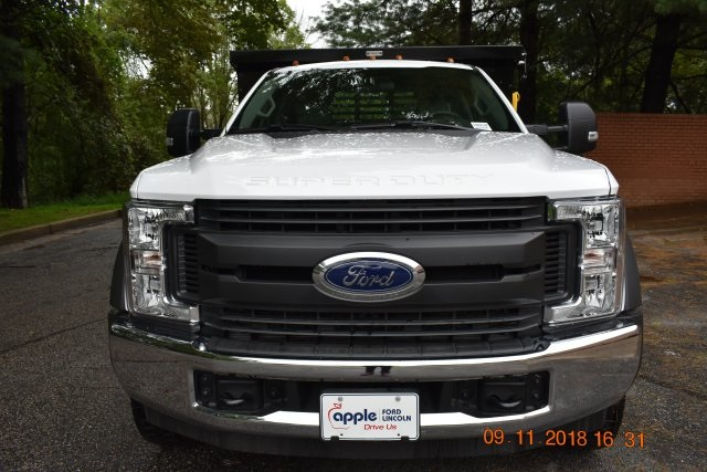 2018 F-450 Regular Cab DRW 4x2,  Reading Dump Body #186914F - photo 4