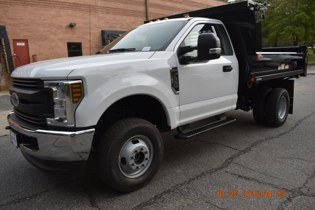 2018 F-350 Regular Cab DRW 4x4,  Reading Marauder SL Dump Body #186979F - photo 1