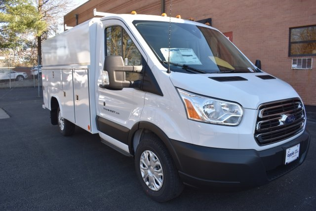 2019 Transit 350 4x2,  Reading Aluminum CSV Service Utility Van #195283F - photo 3