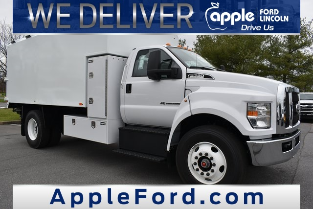 2021 Ford F-750 Regular Cab DRW 4x2, Chipper Body #215039F - photo 1