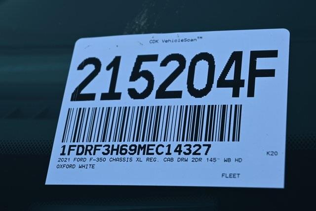 2021 Ford F-350 Regular Cab DRW 4x4, Stake Bed #215204F - photo 30