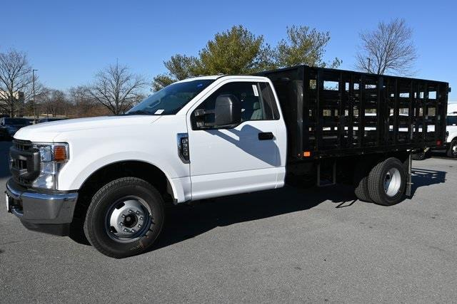 2021 Ford F-350 Regular Cab DRW 4x4, Stake Bed #215204F - photo 6