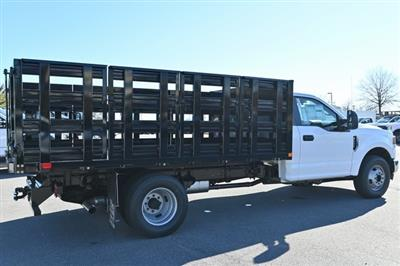 2021 Ford F-350 Regular Cab DRW 4x4, Stake Bed #215204F - photo 2