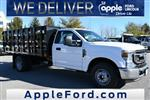 2021 Ford F-350 Regular Cab DRW 4x2, Stake Bed #215205F - photo 1