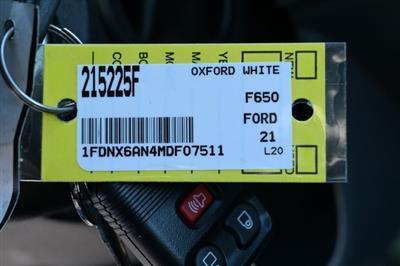 2021 Ford F-650 Super Cab DRW 4x2, Landscape Dump #215225F - photo 27