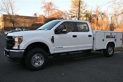 2021 Ford F-350 Crew Cab 4x4, Reading Classic II Steel Service Body #215289F - photo 6