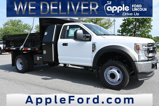 2021 Ford F-550 Regular Cab DRW 4x2, Godwin Dump Body #216172F - photo 1