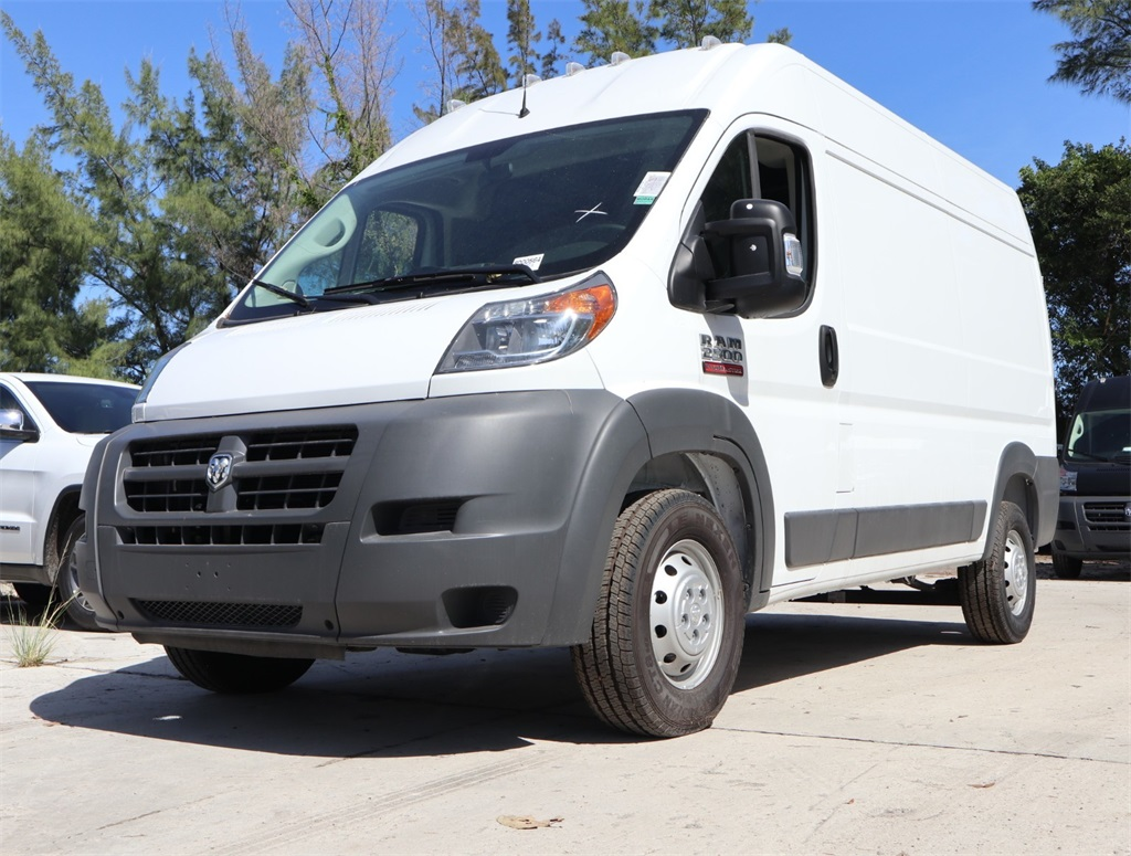 2018 ProMaster 2500 High Roof FWD,  Empty Cargo Van #8D00564 - photo 4