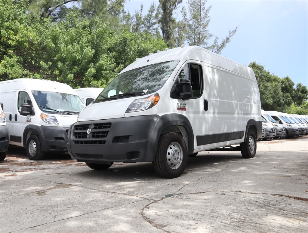2018 ProMaster 2500 High Roof FWD,  Empty Cargo Van #8D00583 - photo 4