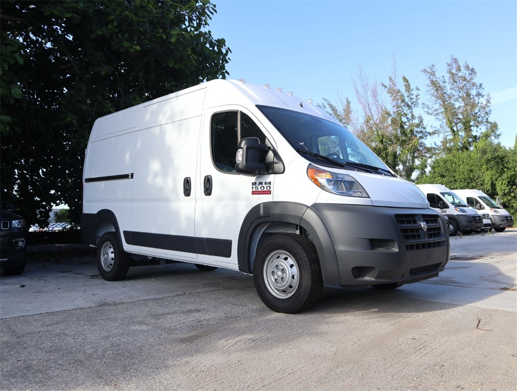 2018 ProMaster 1500 High Roof FWD,  Empty Cargo Van #8D00608 - photo 10