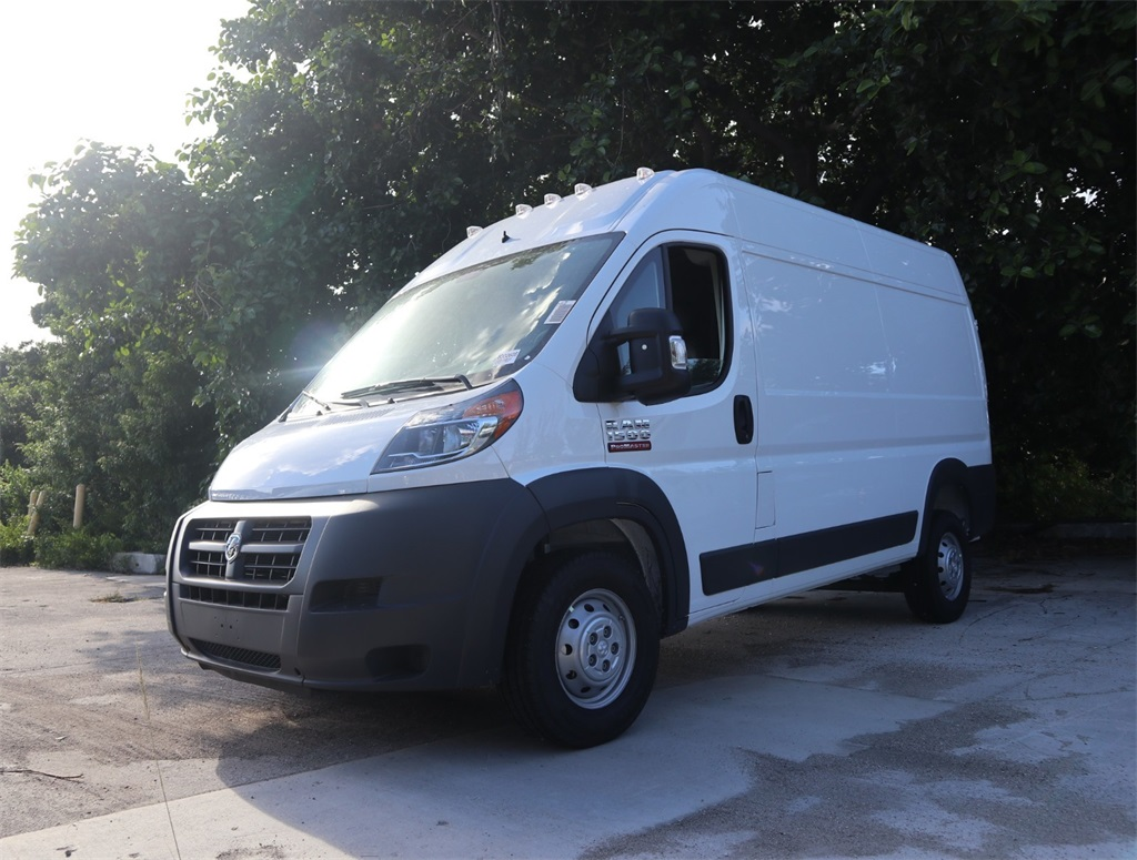 2018 ProMaster 1500 High Roof FWD,  Empty Cargo Van #8D00608 - photo 4
