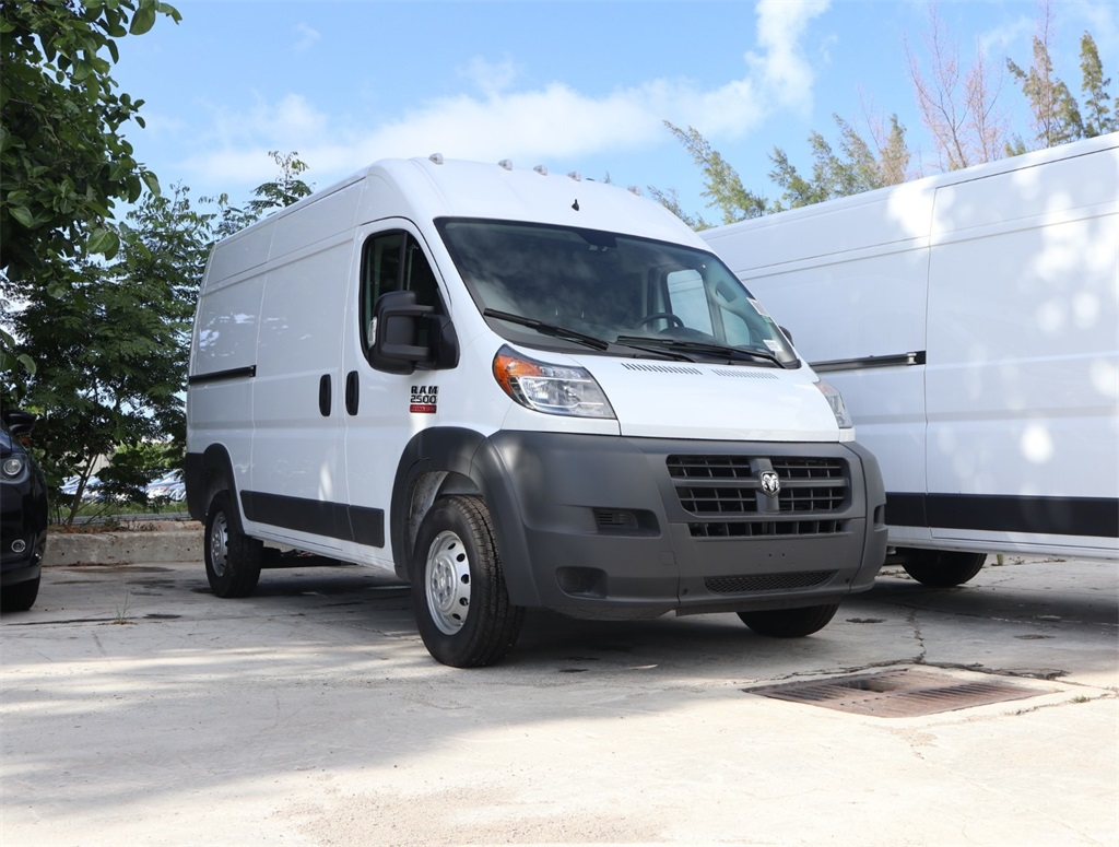 2018 ProMaster 2500 High Roof FWD,  Empty Cargo Van #8D00610 - photo 10